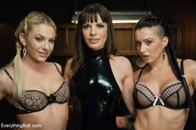 Dana DeArmond, Dahlia Sky, Alby Rydes   Everything Butt pictures lesbian anal